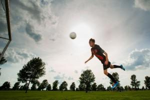 Senior Picture Ideas for Guys - Soccer
