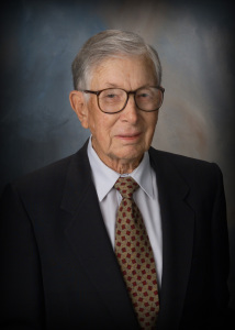 portrait of my father, Dr. James R. juhl